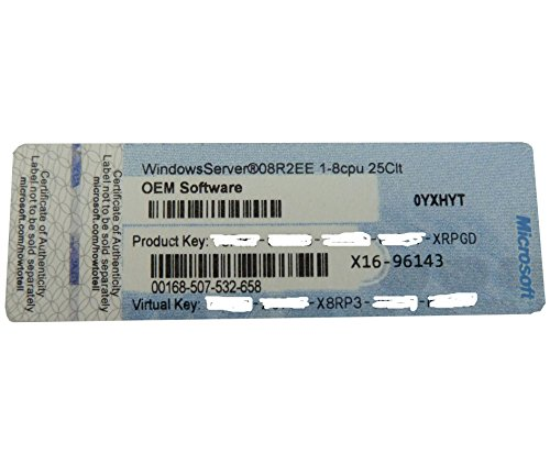 Systembuilder Windows Server Enterprise inkl. HyperV 2008 R2 64Bit x64 1pk DSP OEI DVD 1-8CPU 25 Clt