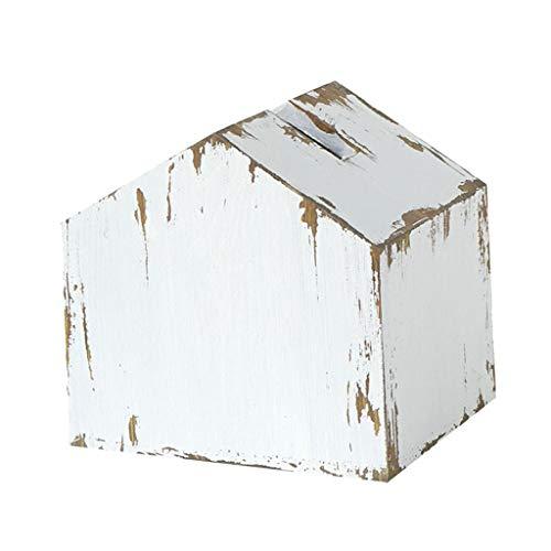 Fenteer Caja de Pañuelos de Madera Cubierta de Papel Facial Servilletero Titular de La Caja del Hotel Decoración del Hogar
