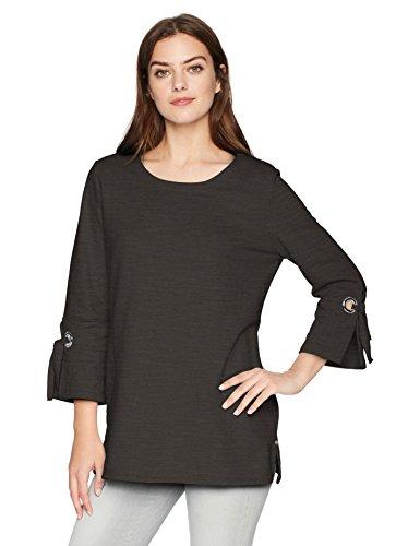 Neon Buddha Women's Standard Discover Tunic, Black, Large