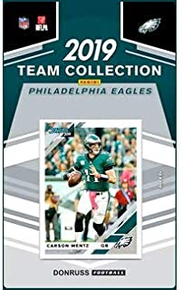 2019 Donruss Factory Sealed Team Set Philadelphia Eagles
