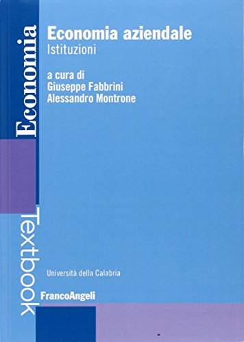 Economia aziendale. Istituzioni