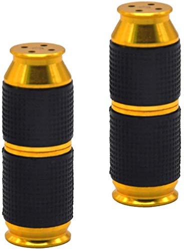 Timess Sahnespender Düsen 2 Stück Sahnebereiter Aluminiumlegierung Klein und tragbar Ledertasche Frostschutzhand Cream Whipper Dispenser (Gold)