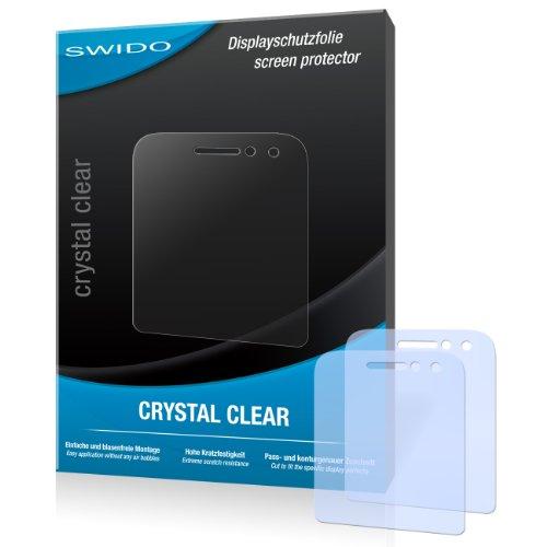 SWIDO Bildschirmschutz für BlackBerry Q5 [4 Stück] Kristall-Klar, Hoher Festigkeitgrad, Schutz vor Öl, Staub & Kratzer/Schutzfolie, Bildschirmschutzfolie, Panzerglas Folie