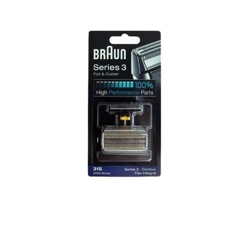 重なるビジター市長Braun 31S コンビ箔と(旧5000/6000)をカッターの交換パック [並行輸入品]