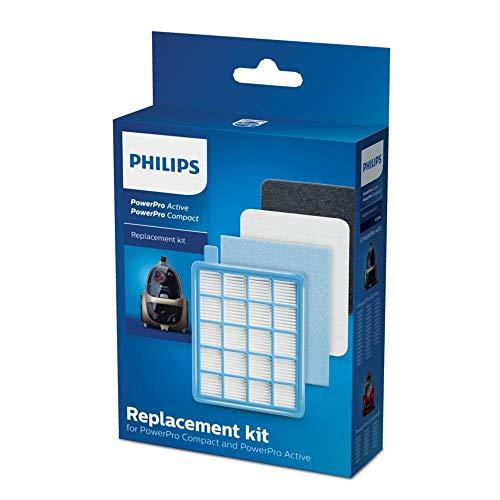 Philips FC8058/01 Komplettes Filterset für beutellose Staubsauger PowerPro Active und Compact
