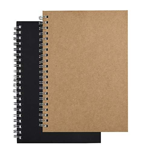 Dokpav 2PCS To Do List Planner Notepad, Agenda Giornaliera Manuale per La Gestione del Tempo, 100 pagine / 50 fogli, 19 x 13cm (2 colori)