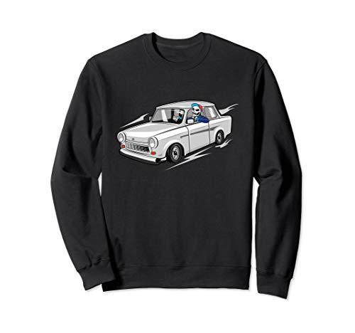 cooler Trabant Fahrer Trabi 601 Ostdeutschland DDR Trabant Sweatshirt