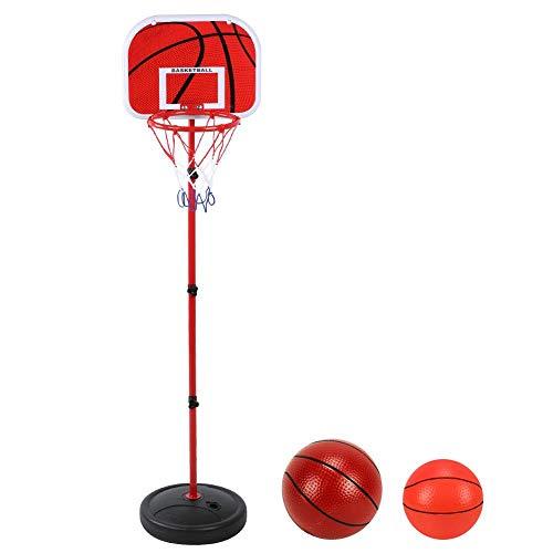 T best Kinder Basketballkorb, 150 cm Höhenverstellbar Basketball Ständer Kinder Spiel Trainingsgeräte Set für Indoor Outdoor