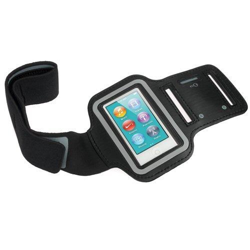 Apple Nano 7 -Sportarmband Hülle Tasche Smartphone Fitness Armband Schweißbeständig Anti-Rutsch geeignet für Laufen , Wandern , Rad Fahren , Reiten - NOVAGO