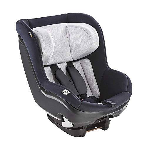 Hauck i-Size Reboard Kindersitz iPro Kids / nutzbar ab Geburt bis 105 cm (0 - 18 kg) / ECE R129 / Gruppe 0, 1, 2 / Einstellbare Kopfstütze / ISOFIX Station separat erhältlich / Schwarz