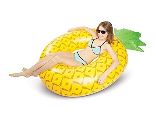 KK Zachary Pool Wasser Float PVC Aufblasbarer Ananas Schwimmring Erwachsene Verdickung Erhöhung Aufblasbarer Schwimmring Erwachsenensitz