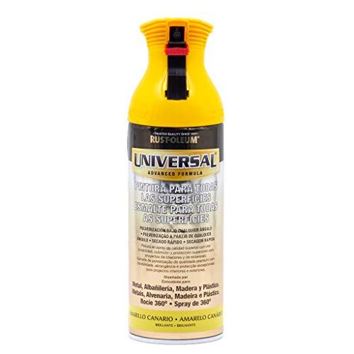 Spray Universal Brillante Rust-Oleum 400ml - Amarillo Canario