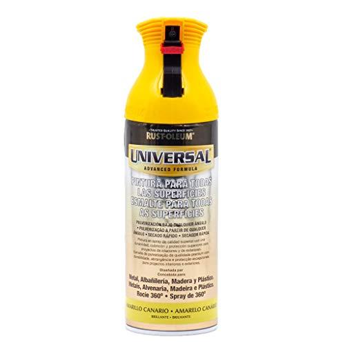Spray Universal Brillante Rust-Oleum 400ml - Amarillo Canario