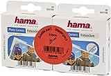 Hama Photo Corners 1000 pcs (Self-adhesive, Suitable for Albums, Convenient Dispenser, Acid-free, Solvent-free, Archive-safe) - Transparent