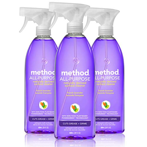 Method All-Purpose Natural Surface Cleaner, French Lavender,28 Fl Oz (Pack of 3)