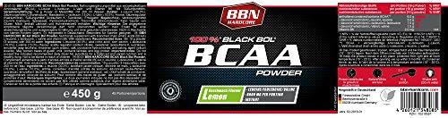 BBN Hardcore BCAA Black Bol Powder Lemon 450 g - 2