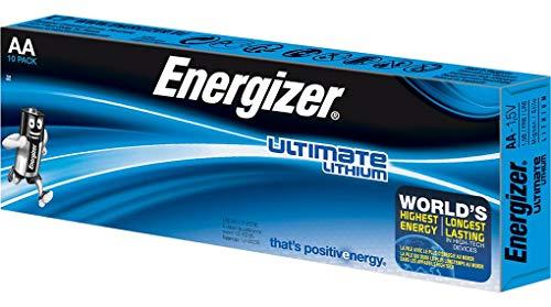 Energizer 633471pile non-rechargeable, Lithium fer Disulphide, 3000mAh, 1,5V, AA