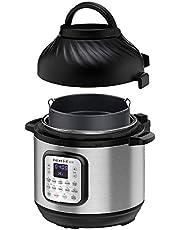 Instant Pot Duo Crisp + Air Fryer 8L Multicooker 11-in-1 snelkookpan, sautés, steaks, Slow Cooker, Sousvides, Warms, air Fries, roasts, Bakes, Broil en dehydrateert.
