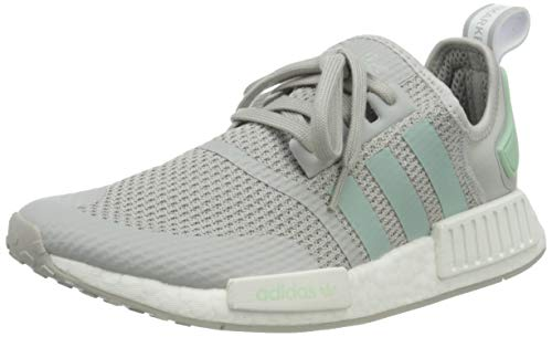 adidas Originals NMD_R1, Zapatillas Hombre, Grey Blush Green Footwear White, 39 1/3 EU