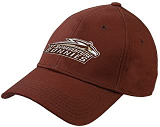 St Bonaventure Brown Heavyweight Twill Pro Style Hat 'Official Logo'