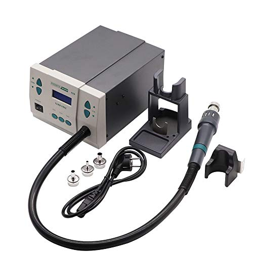 900W PHONEFIX 861DW Hot Air Station with 3Pcs Free Nozzles Original Soldering Station for iPhone Miro Soldering Rework