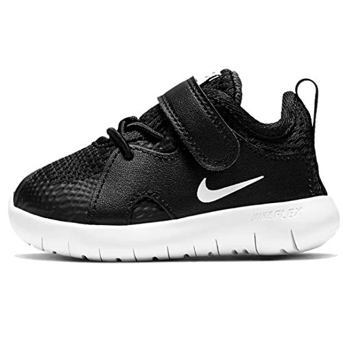 Nike Kids Flex Contact 3 (Infant/Toddler) Black/White 2 Infant