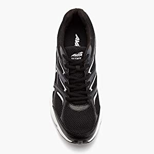 Avia Men's Avi-Forte Running Shoe, Black/Grey/Silver, 10.5 M US
