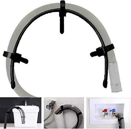 Universal Flexible Wäschetonne Waschmaschine Ablaufschlauch Clip Schlauchhalter
