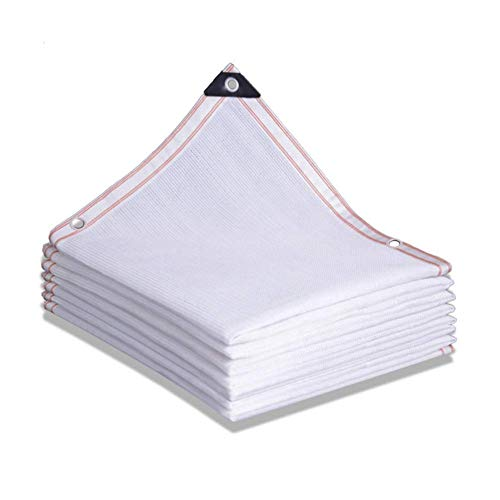 Gymqian Sombreado Netting Camo Netting Shade Cloth Shade Net Shulle Shade White Shade Debris Andamio Netting Netificación de la Sombra Netificación de la Sombra con Los Ojetillos Cerca de Pri