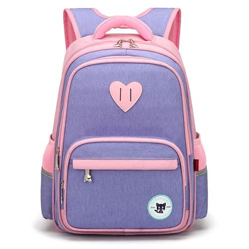 YIXIN Mochila escolar para niños para niñas de 10 años para la escuela Oxford bolsa de libros de tela impermeable mochila deportiva niños camping Daypack