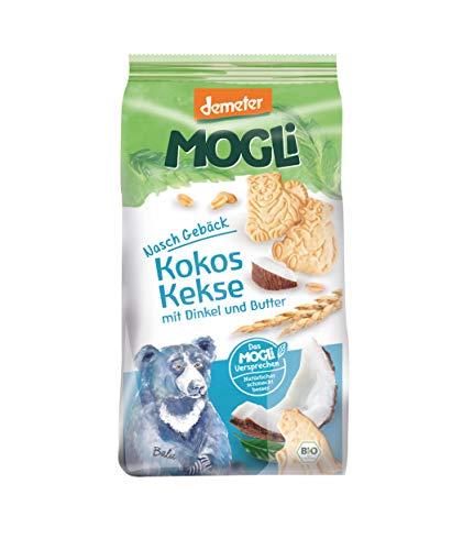 MOGLi Bio Demeter Kokos Dinkel Kekse 7er Pack (7x 125 g)