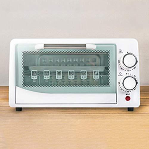 800W Mini Ofen mit Backblech Timer 0-230 ° C Minibackofen 12L Elektroofen Pizzaofen Krümelblech Backblech Mini Oven...
