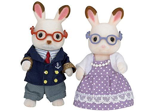 シルバニアファミリー 人形 ショコラウサギのおじいさん・おばあさん