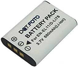 Dot Foto D-LI78 PREMIUM Replacement Rechargeable Camera Battery for Pentax 3 7v 680mAh  See Description for Compatibility