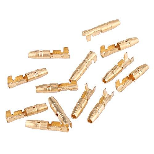 Abstandshalter Stecker & Buchse 3,5-mm-Stecker, 40 stücke MF Messing Kugel 3,5mm Stecker Terminal Male & Female GTC mit Isolierabdeckung