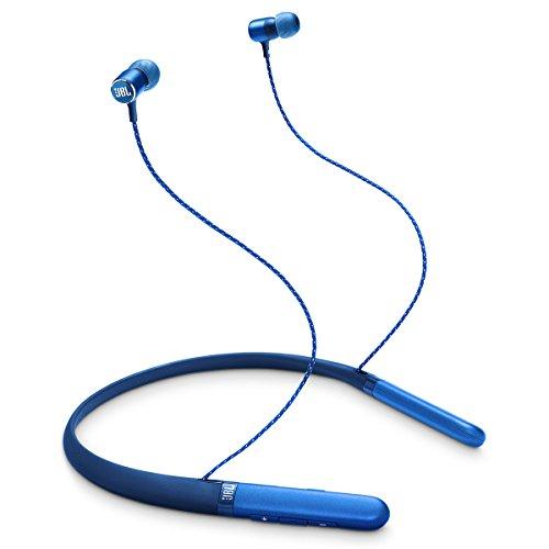 JBL LIVE 200BT Drahtlose In-Ear-Nackenbügel-Kopfhörer - Bis zu 10 Stunden Musik - Bluetooth - Komfort-Nackenbügel - Blau