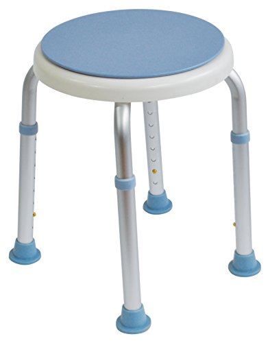Aidapt Shower Stool with Rotating Seat. Ideal for Those who Struggle to...