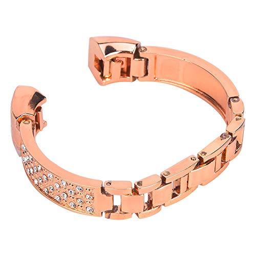 Rose Gold Fashion Smart Brazalet Band Correa para Fitbit Alta Fitness Tracer Decoración Accesoryrose Oro Productos Multifuncionales