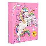 Depesche 10465 Tagebuch mit Code und Sound Ylvi und die Minimoomis, pink, bunt