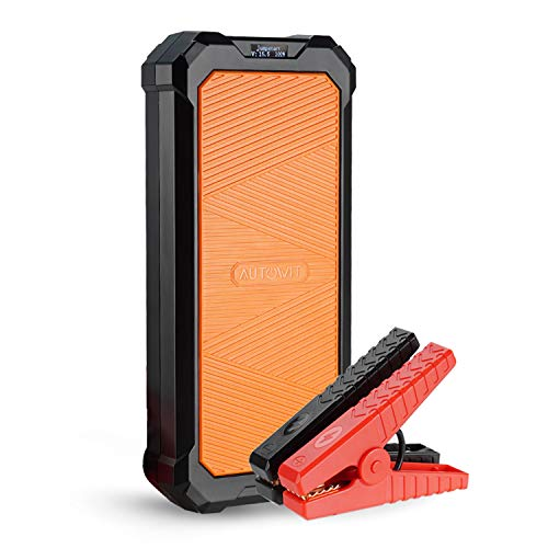 autowit SuperCap 2 12-Volt Battery-less Portable Jump Starter (Up to 7.0L Gas, 4.0L Diesel Engine) Built-in SuperCap, No Need of Regular Charge, 10 Years Lifespan, Extremely Weather Operating