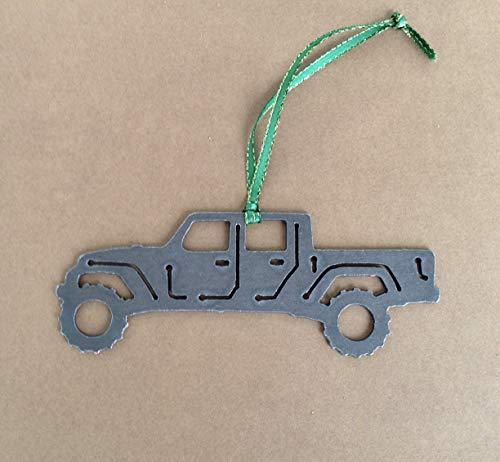 Off road 4x4 Truck Metal Ornament, Perfect for jeep gladiator owners