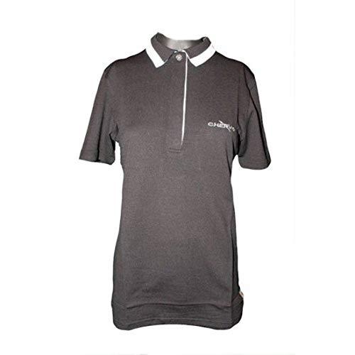Chervo Polo de golf Artemia pour femme Noir Taille 36