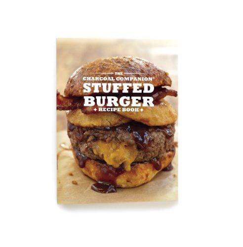 Charcoal Companion Stuffed Burger-książka z przepisami kulinarnymi, wielokolorowa, 0,25 x 15,54 x 20,32 cm, CC3913