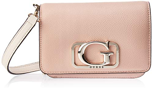 Guess Annarita Mini Crossbody Flap Rose Multi