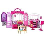 #LightningDeal Barbie Glam Getaway Portable Dollhouse