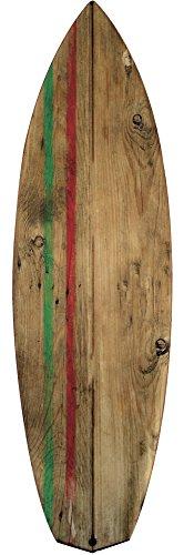 Plage Tabla De Surf Long Board Decoración Mural Adhesiva Gigante, Vinilo, Multicolor, 57x0.1x175 cm