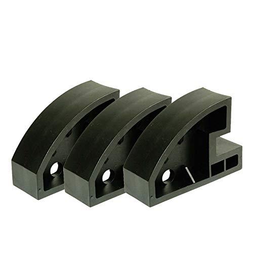 ZPFQFC Cambiador de neumáticos de Nylon de 3 unids, Corona de Abrazadera del Centro de la Rueda de la Rueda de la Rueda de la Rueda del neumático del neumático de la Abrazadera del neumático