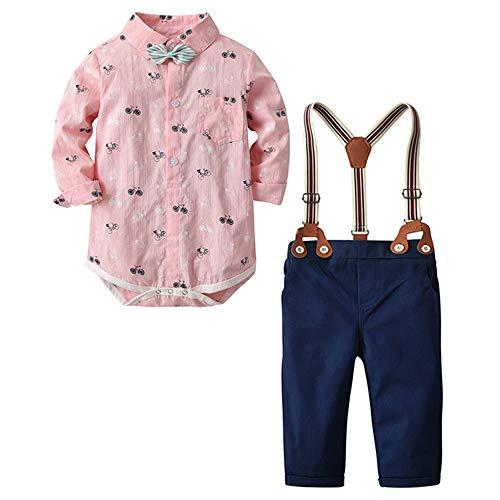 Gentleman Kinderanzug Allence - Conjunto de pantalón y Pajarita para niño, para...