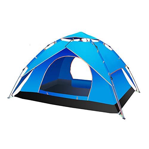 TENT Camping 3-4 Persoon Instant Pop Up Automatische vakantie Gemakkelijk instellen voor Outdoor Wandelen Dubbele Laag