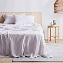 Antica Printed Stonewash Queen Sheet Set